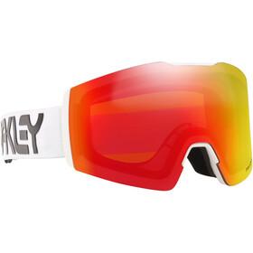 Oakley Fall Line XM Lunettes de ski, factory pilot white/prizm snow torch